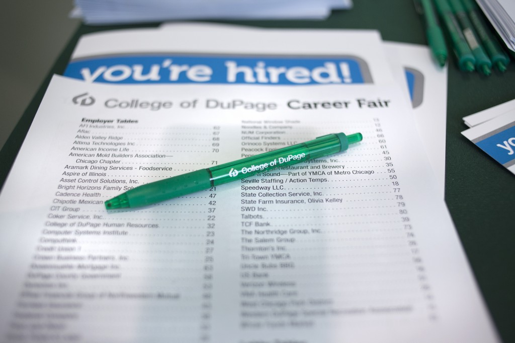 Youth Unemployed Career Fair Pen Paper Form